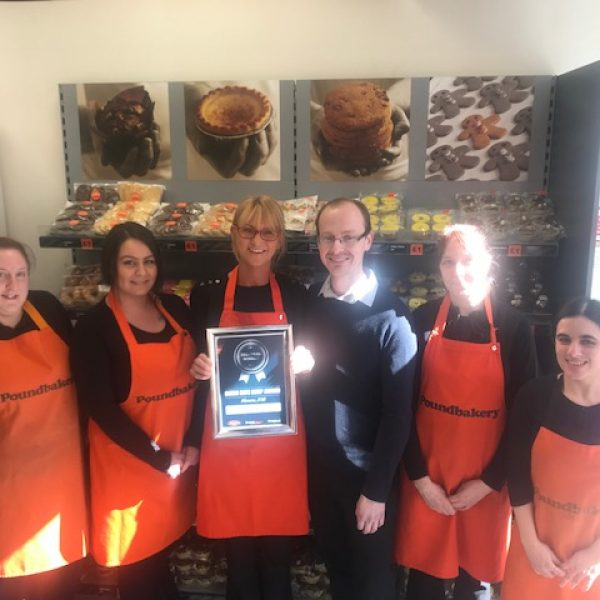 Poundbakery wins regional award