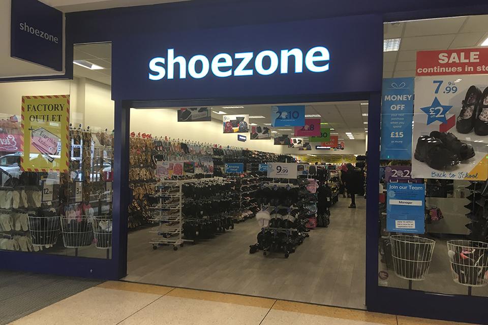 Kirkgate Shopping   Shoe Zone